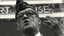 """Héctor García dirigió la campaña """"Viva Kennedy"""" para que el entonces candidato JFK ganase el favor de Texas. Photo: Getty Images"""