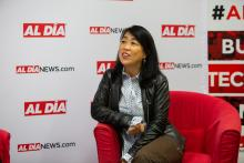 Councilmember Helen Gym spoke at AL DÍA Talks on Sept. 19. Photo: Samantha Laub / AL DÍA News