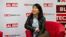 Councilmember Helen Gym visitó AL DÍA para una entrevista el19 de septiembre, 2018. Foto: Samantha Laub / AL DÍA News