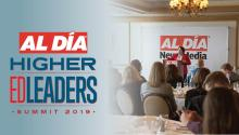 The AL DÍA Higher Education Leaders Summit will unite academic leaders with foundations and Hispanic organizations to promote educational opportunities for Hispanic students throughout Philadelphia. Photo: AL DÍA Live