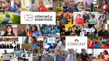 Internet Essentials hit its 10-year anniversary. Graphic: Comcast.