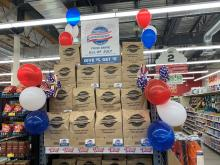 In 11 years, Grocery Outlet Bargain Market's Independence from Hunger campaign has raised $11 million nationwide. Photo courtesy of: Grocery Outlet Bargain Market.