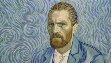 "Una versión animada de van Gogh, retratado por Robert Gulaczyk, en ""Loving Vincent.""  Crédit: Good Deed Entertainment"