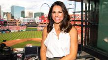 Jessica Mendoza, a broadcaster for ESPN was recently hired in the baseball operations front office departmentby the New York Mets.Photo Credit: Phil Ellsworth / ESPN Images