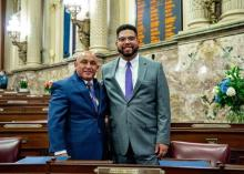 Manny Guzman is the first Latino to rep Reading in Harrisburg from District 127. Photo courtesy of: The Office of PA Rep. Manny Guzman