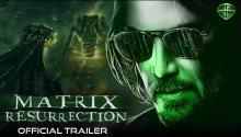 Matrix Resurrection promotional poster