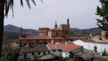 Vista del Real Monasteriode la Virgen de Guadalupe, patrona de la Hispanidad, en el pueblo extremeño con el mismo nombre. Foto: Andrea Rodés