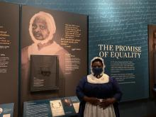 Museum of American Revolution: 'When Women Lost the Vote' Exhibition. Photo: Maritza Zuluaga // AL DIA