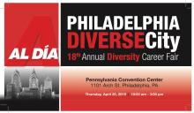 The 18th Annual AL DÍA Diverse City Career Fair.