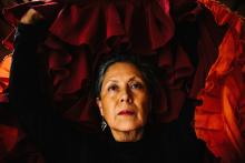 "Elba Hevia y Vaca will perform her autobiographical flamenco piece, ""La Bolivianita,"" at the Philadelphia Fringe Festival from Sept. 19-22. Photo: Aidan Un"