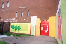 William Cramp Elementary School in North Philadelphia is one of the 12 community schools in the city which hosted adult education classes for community members this spring. Photo: Emily Neil /AL DÍA News