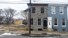 The house at 753 Walnut Street in Camden where Dr. King often stayed. LBWPhoto