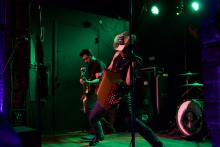 Álvaro Del Norte is the lead singer and accordion player forPiñata Protest, the Tex-Mex punk band he founded in his hometown of San Antonio, TX, ten years ago. Photo:Emily Neil /AL DÍA News