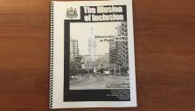 "Facsimile of former Councilman Angel Ortiz's report ""The Illusion of Inclusion"". Photo: Linn Washington."