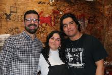 The Act unveiled on Aug. 25, quickly saw backlash from pro-statehood advocates, and those who oppose AOC. Photo from Left: Adrian Rivera Reyes, Puchi De Jesus, Adrian Mercado. Credit: Michelle Myers, AL DÍA News.