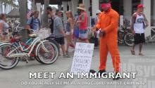Meet an Immigrant (Donald Trump Experiment)