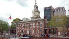 El Independence Hall, edificio histórico de Filadelfia, una ciudad llena de lugaresrecónditos por descubrir. Foto: Wikipedia