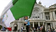 Mexico's Independence Day is celebrated on September 16. Photo: EFE
