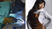 Consuelo Poland, fundadora de Latinas Welding Guild.Photo: Indystar.