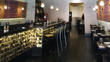 Interior de vista Perú, uno de los tres restaurantes peruanos del chef René Arroyo en Filadelfia. Eli Siegel.
