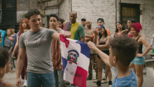 Frame from the official trailer of the movie 'In the Heights'.