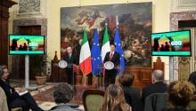 Italian prime minister, Matteo Renzi, has asked the population to vote on Referendum if they want to reform the Constitution. The Referendum is scheduled for Dec 4.EFE/Alessandro Di Meo