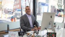 R. Iván Lugo is CEO of the Hispanic Dental Association. Samantha Laub / AL DÍA News
