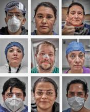 Mexican photographer Iván Macías came in second place in the Individual Portraits category of World Press Photo 2021.Photo: Instagram @ivan_macias