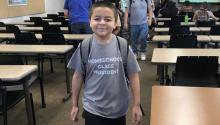"""""""Tengo 13 años y todavía no he resuelto qué voy a hacer"""", Jack Rico, de 13 años. Photo: CNN"""