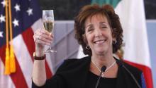 """La Embajadora de Estados Unidos en México ha anunciadoeste jueves que abandonaráel puesto""""para buscar nuevas oportunidades"""".EFE/Sáshenka Gutierrez/ARCHIVO"""