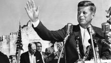 La campaña Viva de JFK en 1960 Foto: politico.com