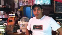 Jimenez's start in the food industry began over a decade ago with a job at a taqueria in Mexico City.