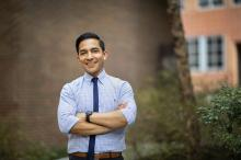 José Maciel, School of Penn Nursing and Nutrition Graduate, won the 2019 President's Engagement Prize for his non-profit Cultivando Juntos that is inspiring healthy eating.