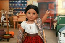 "Josefina Montoya, the first Latina doll of the ""American Girl"" brand."