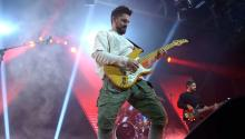 As a true entertainer, Juanes interacted with the crowd and for a couple of hours, washed away all the real world struggles we face in life and gave his fans a party no one would forget. Photos: Peter Fitzpatrick.
