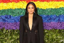 Karen Olivo. Image from Getty / Taylor Hill.