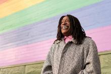 Ken Jones. Photo from A&U Magazine (America's AIDS Magazine)