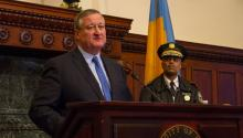 Mayor Kenney spoke out agains the AHCA as congress plans to vote on Thursday.