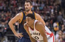 NBA Players Kevin Love and DeMarDeRozan (Image via USA Today Sports/Nick Turchiaro)