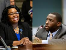 Councilmember Katherine Gilmore Richardson and Isaiah Thomas have continuously made efforts to help arts and culture recover from the pandemic. Photo credit: Jared Piper/PHL Council