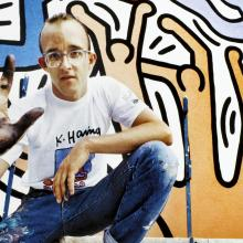 Keith Haring visited Barcelona in 1989 and painted several murals. Photo: Framed Art/Alamy Stock Photo/Alamy