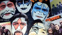 """Los Caú, """"los diablos de la cumbia"""", grabaron 24 LPs. Photo: Catastrófico"""