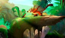 Koati, the new animated film full of Latino talent.