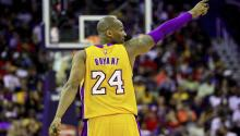 Kobe Bryant, the Lakers' proud number 24. Via AfricansLive.