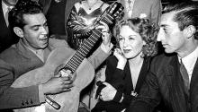 Hilda Krüger pudo haber sido una Marlene Dietrich, pero la vida la llevó a encarnar a Mata Hari.Photo: Infobae.