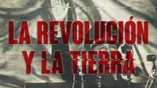"""Poster of the Peruvian documentary """"La Revolución y la Tierra""""."""