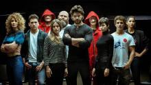 "Cast of ""La Casa de Papel"", file image."