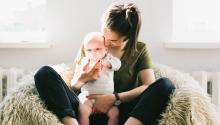 La OMS recomiendadar el pecho a los niños hasta los seis meses. Foto:Daria Shevtsova