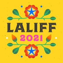 Poster for the Los Angeles Latino International Film Festival, LALIFF 2021.