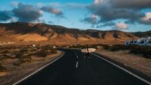 Lanzarote ofrece espectaculares paisajes. Foto: Rob Bye